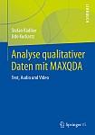 Buchcover: Analyse qualitativer Daten mit MAXQDA